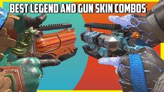 Top 27 Legend + Gun Skin Combos in Apex Legends