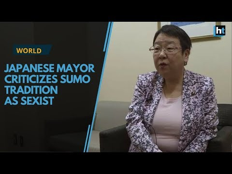 Japanese mayor criticizes sumo tradition as sexist