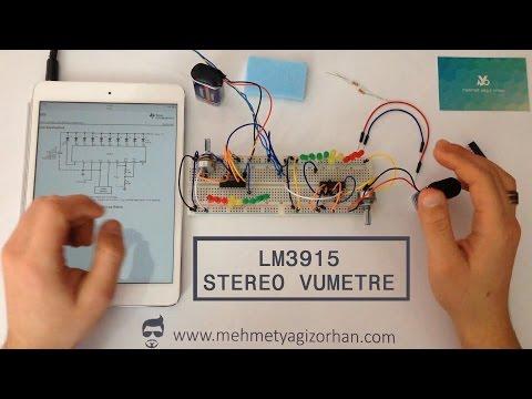 Vumetre LM3915 - Hobi Devreleri #2