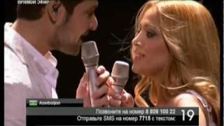 Eurovision 2011 Final Azerbaijan Ell Nikki Running Scared
