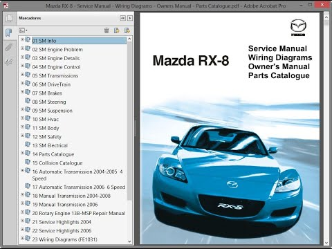 [GJFJ_338]  Mazda RX-8 - Service Manual - Wiring Diagrams - Owners Manual - Parts  Catalogue - YouTube | Mazda Rx 8 Wiring Diagram |  | YouTube