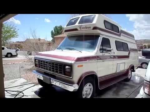 PRICE DROP! SOLD SALE RV Ford E350 Coachman Class B CamperVan Van $5950!