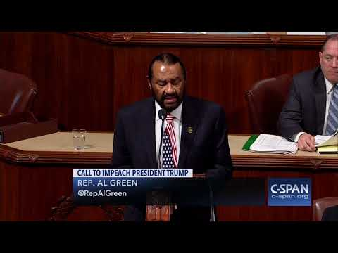 Rep. Al Green: Articles of Impeachment (C-SPAN)