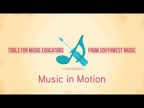 Tools for music teachers: Music In Motion at Southwest Music Summer Exhibition
