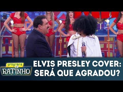 Elvis Presley Cover: Será Que Agradou Os Jurados? | Programa Do Ratinho (18/06/2018)