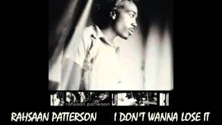 Rahsaan Pattersom - I Don