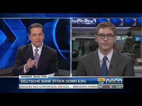 Deutsche Bank stock down 6.5%