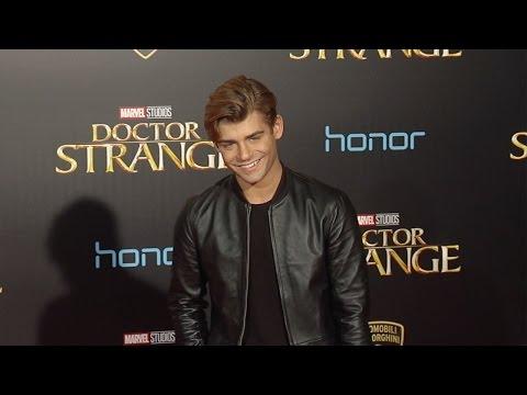 """Garrett Clayton """"Doctor Strange"""" World Premiere Red Carpet"""