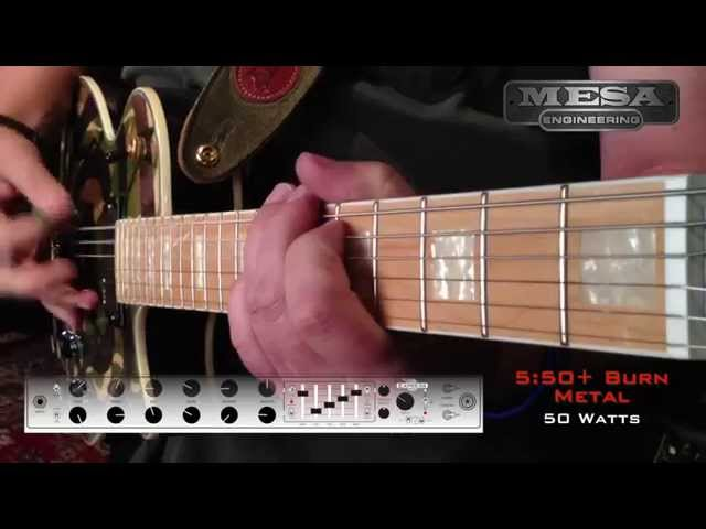 MESA/Boogie Express 5:50+ Ch. 2 BURN – Metal