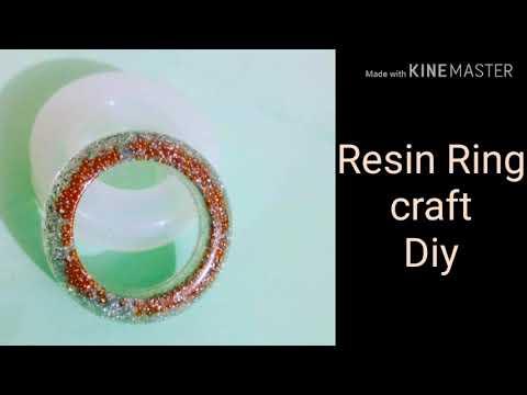 Resin jewelry/ Resin ring/ Resin art/ Resin craft/ craft/ Diy/Resin