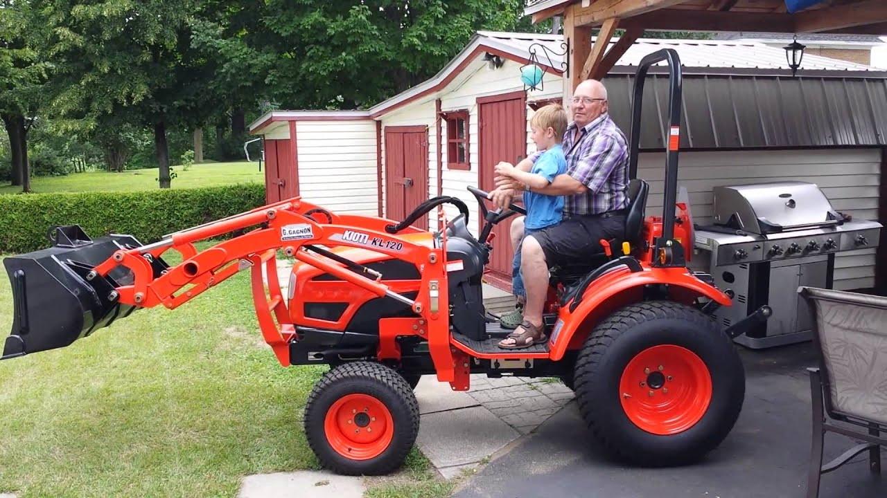 Kioti Tractors 2610 : Kioti à rene youtube