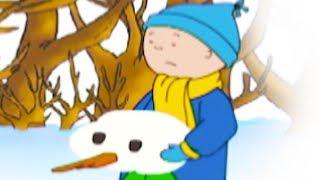 Caillou en français - Caillou détruit le bonhomme de neige | conte pour enfant | dessin anime streaming