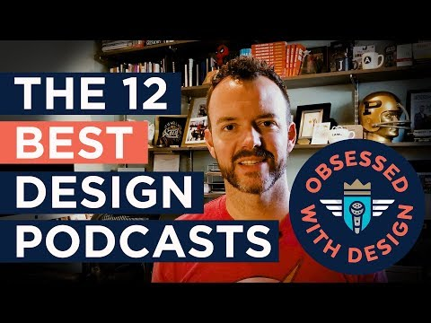 The Best Design Podcasts - 12 Essential Design Podcasts to Add to Your Playlist Right Now.