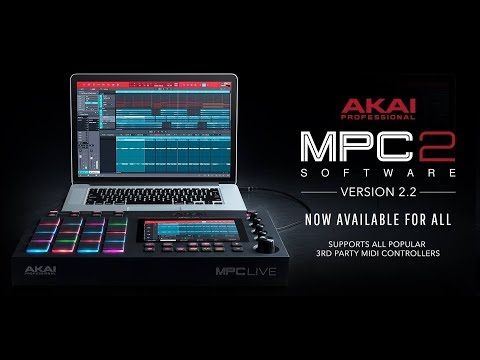MPC 2.2 UPDATE - MIDI Learn Global , MIDI Learn Project + Humanize & Generate Random Events
