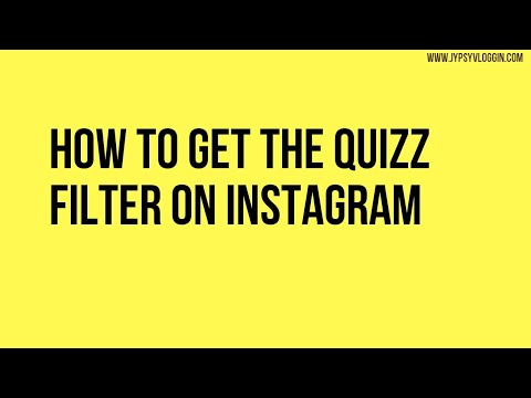 How To Get The Dumb Quiz Filter On Instagram Youtube