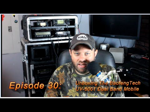 Ham Radio 2.0: Episode 30 - Unboxing the BTECH UV-5001 Dual Band Mobile Radio