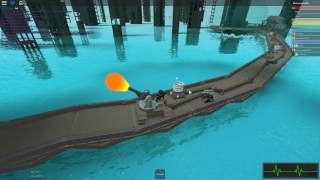 Roblox: Mechanism (Defaultio's new game) MEGA BASE GETS TOPPLED