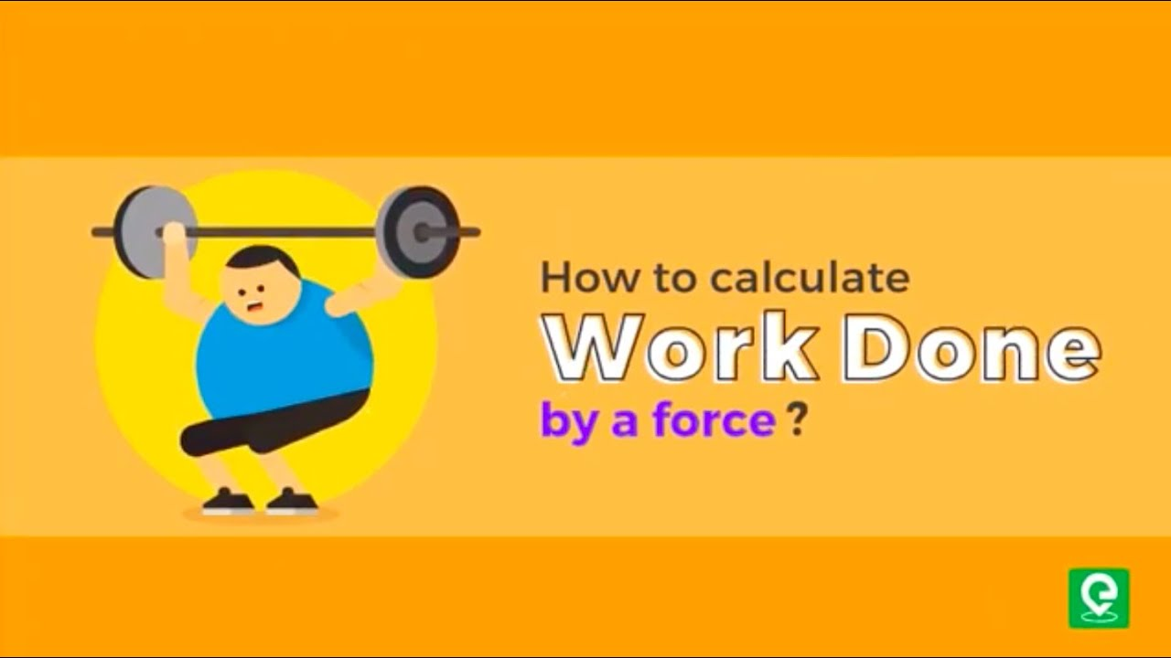 Calculate work done by Force | Physics | IIT-JEE | NEET | 2020