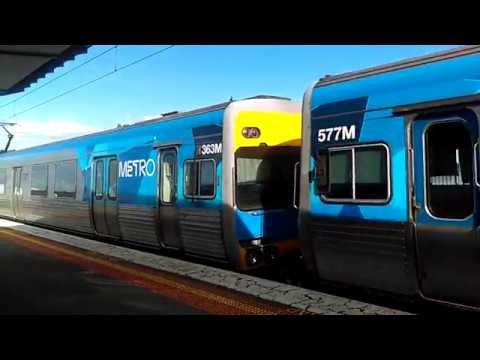 A trip straight up the Werribee line: Hoppers Crossing to North Melbourne - Metro Trains Melbourne