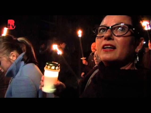 Lichtjestocht Allerzielen 2015 Wittevrouwenveld