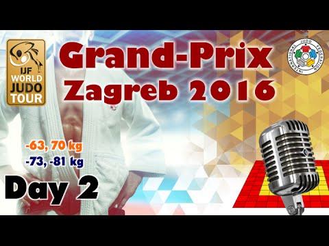 Judo Grand-Prix Zagreb 2016: Day 2