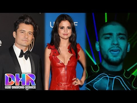 Selena Gomez Makes Out With Orlando Bloom? - Zayn Drops Video For 'Like I Would' (DHR)