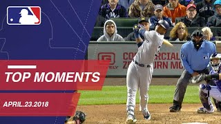 Top 10 Moments around MLB from April 23, 2018