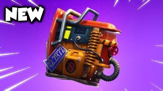 HOW TO GET THE NEW RUST BUCKET BACK BLING FREE / NEW FORTNITE UPDATE / FREE ITEM