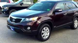 Best Priced Used 2011 Kia Sorento LX AWD #T7618A Southern Maine Motors Car Dealers in Me 04072