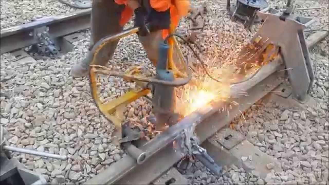 инструкция по алюминотермитной сварке