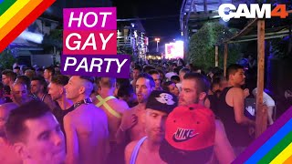 Angeregte Gay Party (wild!)
