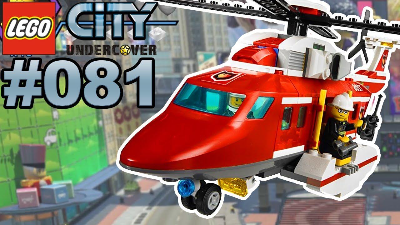 Lego City Undercover 081 Feuerwehr Helikopter Einsatz Lets Play