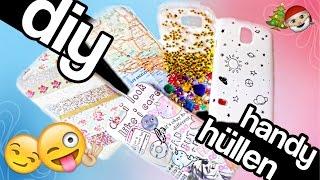 DIY :  5 Handyhüllen  - easy Weihnachtsgeschenk - #BEEcember2 ❄  | Dagi Bee