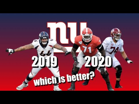 GIANTS DRAFT: How Does 2020's OT Class Compare To 2019? (217)
