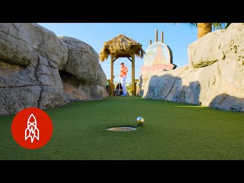 Meet the Professional Mini Golfer