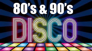 Golden Hits Disco 80/90  Best Disco Songs Of All Time