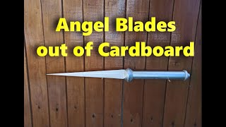 How to make a Angel Blades Supernatural out of cardboard
