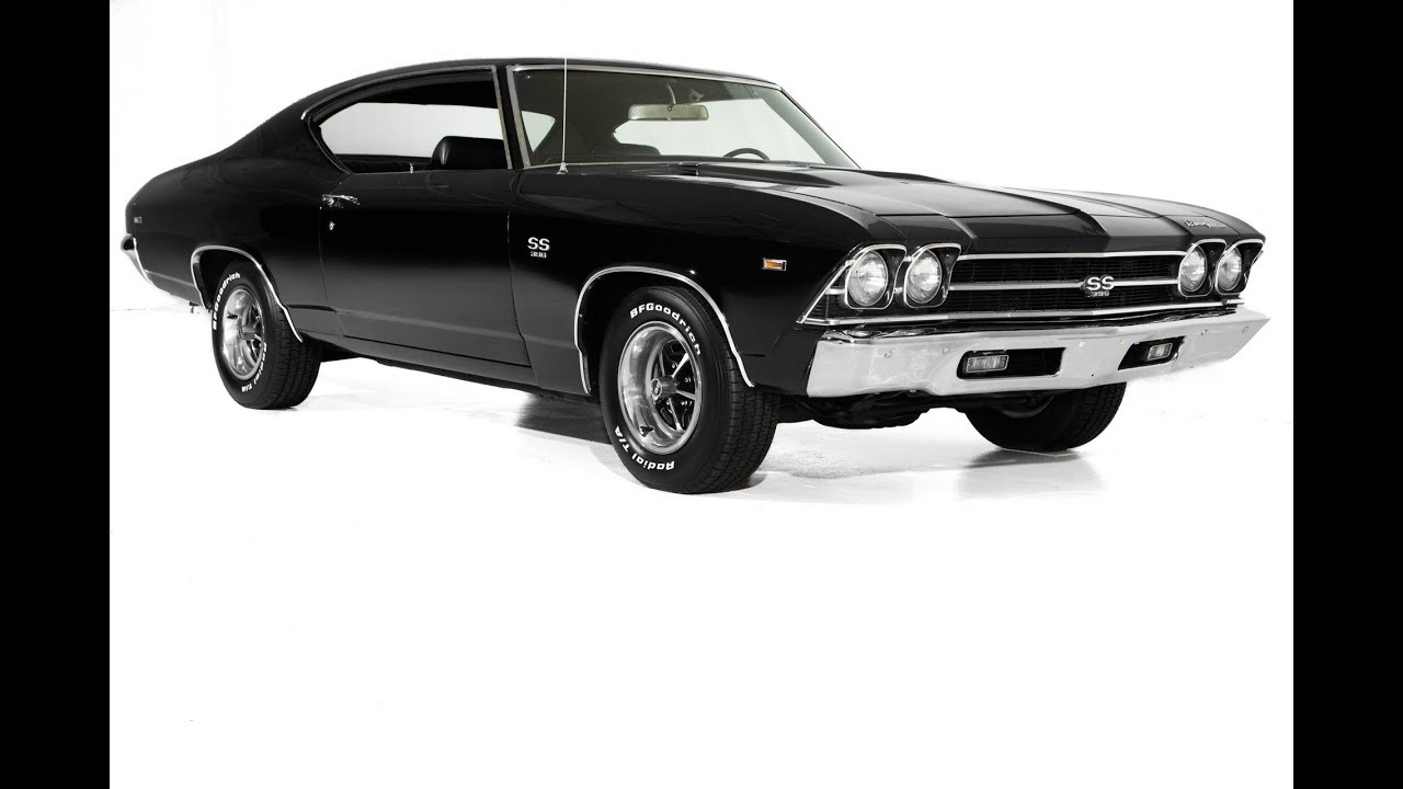 1969 CHEVY Chevrolet SS 396 Chevelle Super Sport license plate tag 69 muscle car