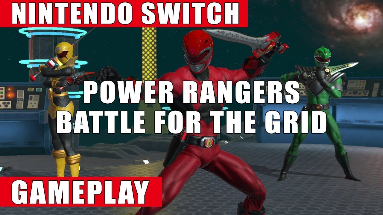 Eshop Card Kopen Power Rangers Battle For The Grid Nintendo Switch Gameplay