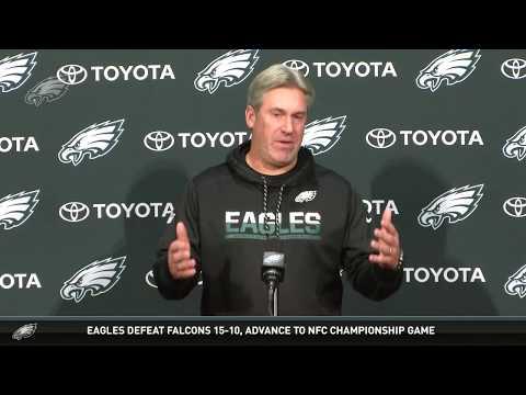 Eagles Press Pass: Head Coach Doug Pederson (1/15/18)