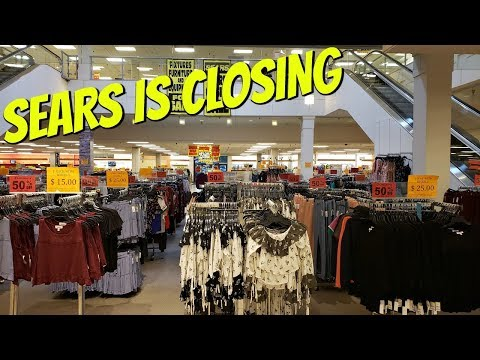 SEARS IS CLOSING SALE! ON EVERYTHING STORE WALK THROUGH JUNE 2019