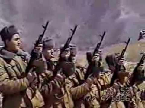 Участники боевых действий на Таджико-Афганской границе 1996-97г.