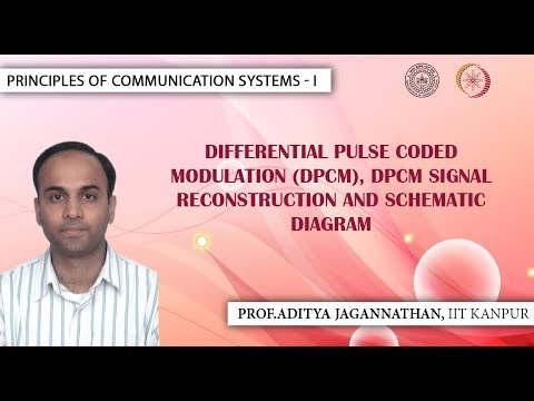 Lec 47 | Principles of Communication | Differential Pulse Coded Modulation | IIT Kanpur