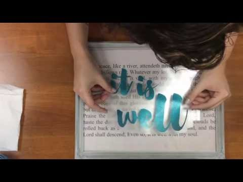 How to Create a Print and Vinyl Frame with Silhouette Studio