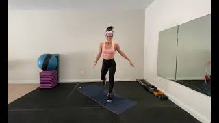Piyo Inspired Warmup WAKE UP! Quick Workout. Great For Beginners!