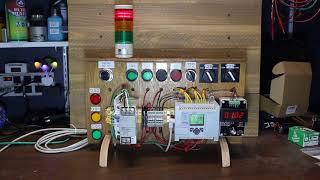 MicroLogix 1100 PLC Trainer