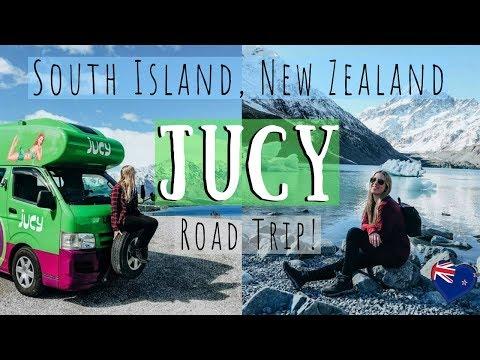 South Island, New Zealand JUCY Road Trip with my bestie!