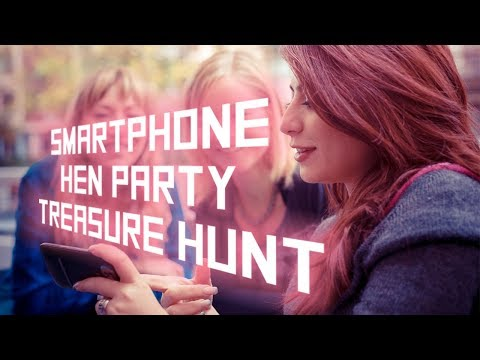 SMARTPHONE HEN PARTY TREASURE HUNT | Enjoy a Girly Trivia Scavenger Hunt