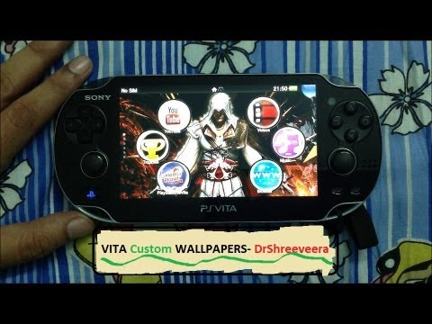 PS VITA- Stunning CUSTOM Wallpapers to Categorize apps with LINKS to download Themes