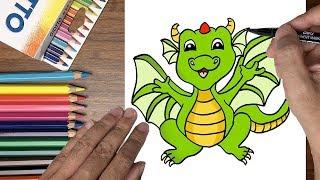 Dạy bé tập vẽ con rồng